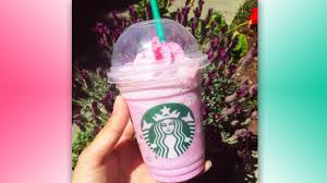 Starbucks Pink Pegasus Frappuccino Is Here
