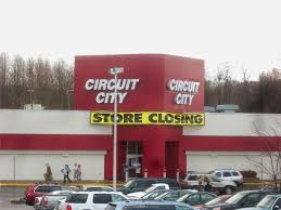 Unlettered capitalism Circuit City has yanked its signs