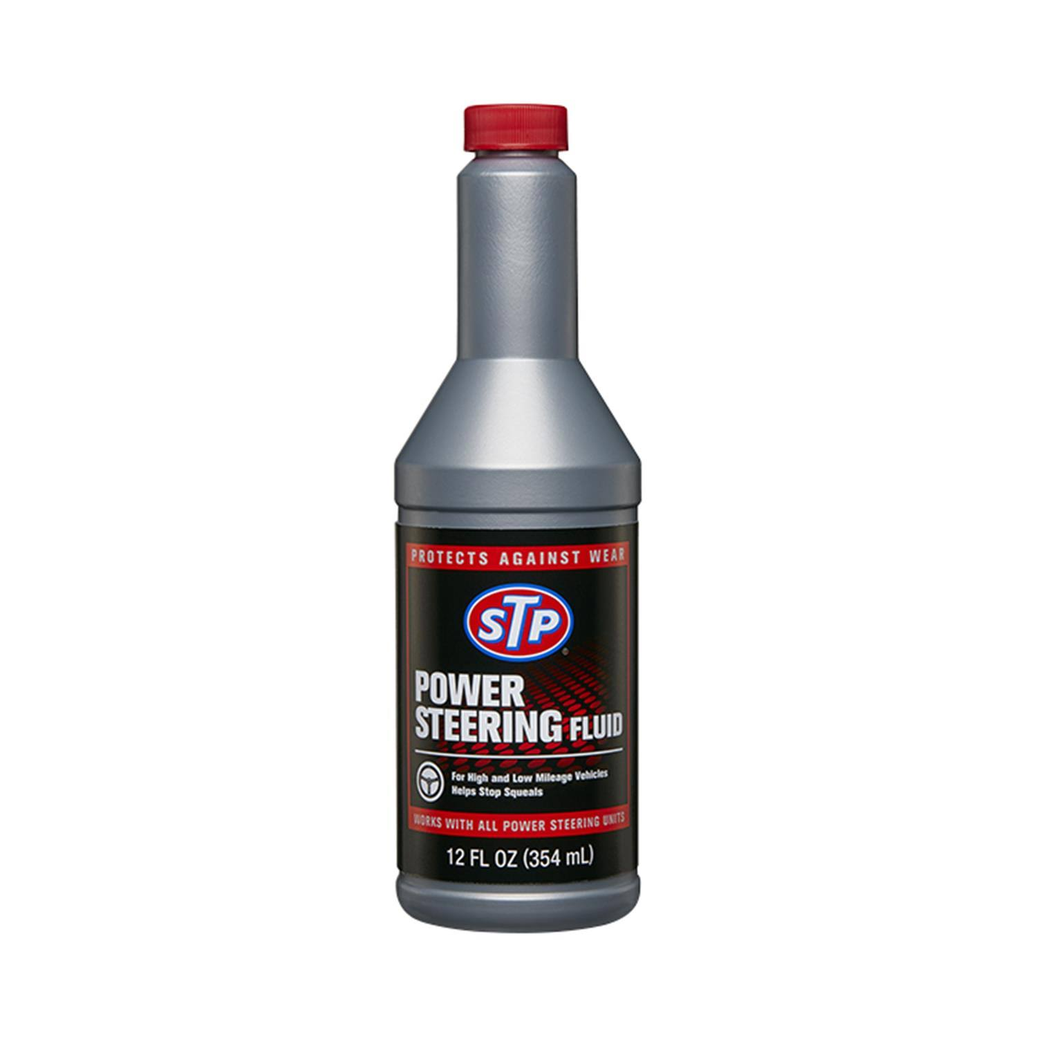 STP Power Steering Fluid - 12 fl oz bottle