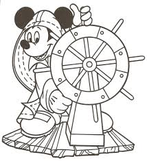 Disney World Coloring Pages Cruise