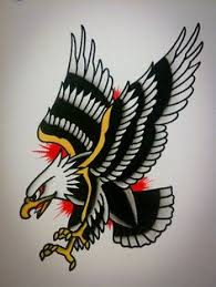 Sailor Jerry Eagle Tattoos Traditional