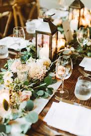 Wedding Ideas By Colour Green Table Decorations