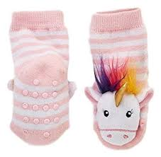 Cupcakes Cartwheels Unicorn Rattle Socks