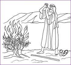 Two Coloring Pages Moses In The Nile And Red Sea Biblewise Intended For Incredible