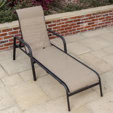 Stack Sling Patio Lounge Chair Tan by Madison Bay Sling Patio Chaise Lounge By Lakeview Outdoor Designs