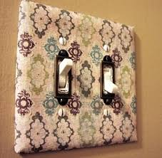 Paint or decorate light switches – Indoor Lighting