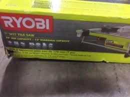 Ryobi 7 Wet Tile Saw by Ryobi 7