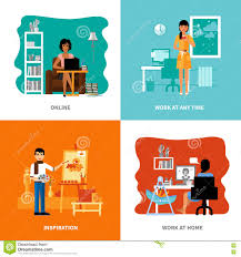 Different Possibilities Of Freelancers Set Stock Vector - Image ... Ways To Become A Graphic Designer Wikihow Work With Or Design Firm 6 Genuine At Home Business Models You Need To Know About 100 Jobs From 34 Best The Freelancer Quit Your Job From Start Here Opportunity And At Gallery Interior Ideas 25 Designer Office Ideas On Pinterest Talking Online Awesome Fashion Decorating Emejing Contemporary 46873 Best Images Money Freelance Personal Assistant Character Stock Vector