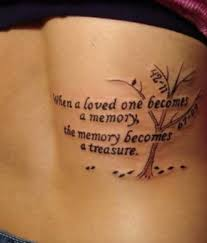 Memorial Tattoo Designs For Girls