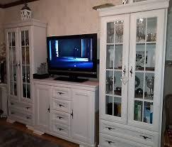 komplett wohnzimmerschränke vitrinen sideboard weiß