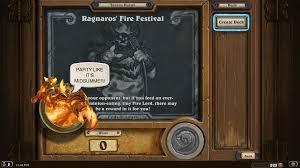 Hearthstone Mage Decks Hearthpwn by Celebrate Midsummer Fire Festival With The Ragnaros U0027 Fire Festival