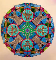 Creative Haven Steampunk Mandalas Coloring Book By Marty Noble