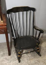 Nichols And Stone Windsor Rocking Chair by Absolute Auctions U0026 Realty