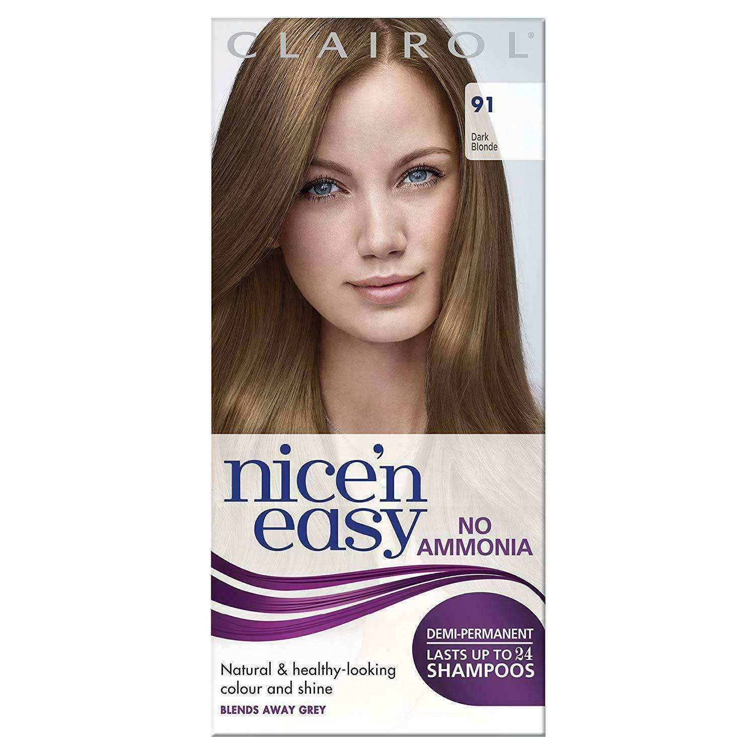 Nice'n Easy No Ammonia Hair Dye Dark Blonde 91