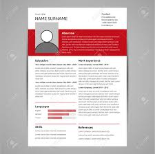 Resume And Cv Template. Flat Style Vector Illustration. Royalty Free ... 70 Welldesigned Resume Examples For Your Inspiration Piktochart Innovative Graphic Design Cv And Portfolio Tips Just Creative Resumedojo Html Premium Theme By Themesdojo Job Word Template Vsual Diamond Resumecv 3 Piece 4 Color Cover Letter Ya Free Download 56 Career Picture 50 Spiring Resume Designs And What You Can Learn From Them Learn