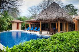 5 Bedroom House For Rent by Beachfront Costa Rica Luxury Villa Private Pool 5 Bedroom Plus