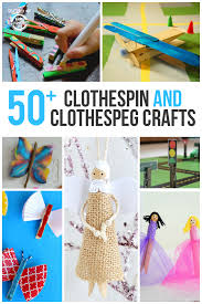 These Clothespin Crafts Show You Just How Creative Can Get With A Little Imagination It Is So Much Fun To Make Something Out Of Simple Household