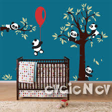 panda wall decals nursery wall decals for room with
