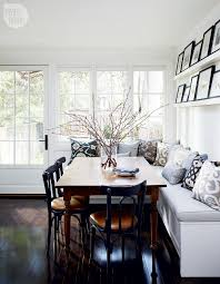 Fabulous Bench Seating Dining Table At Ideas Kitchen Your Money Bus Design Finding