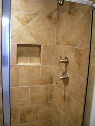 excellent bathroom tile ideas with classic brown pattern ceramic