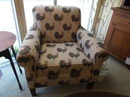 Cotton-poly Blend With Whimsical Rooster Print On Maple Legs ... Bachman Padded Seat Redbrown Accent Chair Refresh Any Room With An Accent Chair Best Buy Blog Oliver Voyage Fabric Cb Fniture Shop Artisan Turquoise Free Shipping Today Bhaus Tracy Porter Thayer 461e40 Clarinda Ashley Homestore Benchcraft Archer Stationary Living Room Group John V Schultz Outdoor Chairs Hand Painted Craftmaster 040010 Traditional Woodframed Ideas 28 For A Dramatic