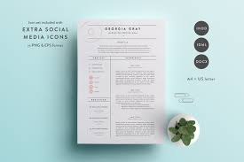 This Resume Template Is Available In Both A4 And US Letter Sizes It Includes A 2 Page Cover