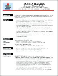 Free Sample Resume For Teachers Doc Plus New Teacher Template Elementary Examples