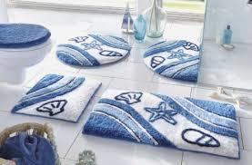 badezimmer vorleger matten bad garnitur duschmatte neu