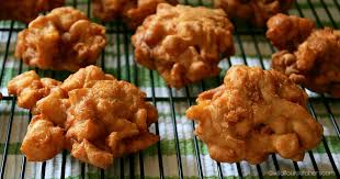 Cinnamon Apple Fritters (Fried Apple Doughnuts / Aka