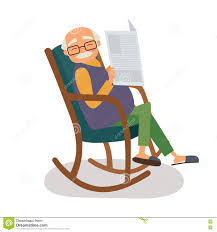 Old Man With Papernews In Her Rocking Chair Stock Vector ... Old Man Sitting In Rocking Chair And Newspaper Vector Image Vertical View Of An Old Cuban On His Veranda A A Young Is Theory Fact Ew Howe Kursi Man Rocking Chair Watching Tv Stock Royalty Free Clipart Image Collection Hickory Porch For Sale At 1stdibs Drawing Getdrawingscom For Personal Use Clipart In Art More Images The Who Falls Asleep At By Ahmet Kamil Kele Rocking Chair Genuine Old Antique Farnworth