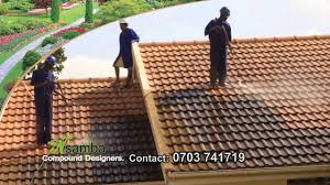 Monier Roof Tile Malaysia by Nsamba Roof Tile Cleaners In Uganda Youtube