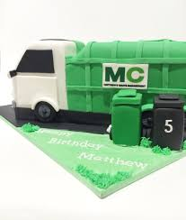 Rubbish Truck Cake — Burnt Butter Cakes