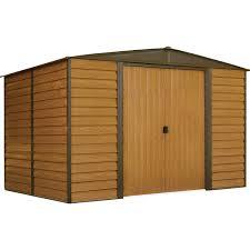 arrow galvanized steel storage shed 10x8 woodridge 10 x 8 ft steel storage shed steel sheds arrow sheds