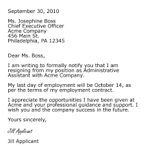 Templates Resignation Letter Resignation Template Resignation Simple