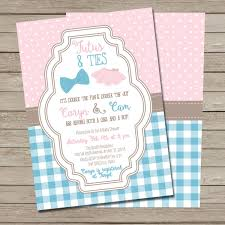 Colors Stylish Free Printable Chevron Baby Shower Invitations
