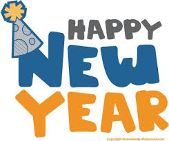 Happy New Year Clipart For Kids and Adults