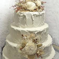 Rustic Burlap Wedding Ideas Fall Cake Topper With Matching Flower Pick Ready To