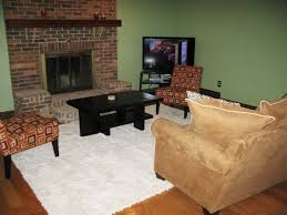 how to arrange furniture around fireplace and corner tv colored