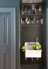Kohler Utility Sink Wood Stand by Classic Laundry Room Sink Atticmag