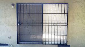Decorative Security Bars For Windows And Doors by Window Guards Custom Reed Brothers Security