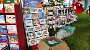 Leanin Tree Christmas Cards by Flea Market Photos July 11 Dodge County Fairgrounds