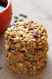 Pumpkin Flaxseed Granola Nutrition by Pumpkin Breakfast Cookies Gluten Free Clean Eating Leelalicious