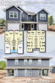 100 Triplex Houses Duplex House Plans For Narrow Lots Fresh Plan Dj 3 Bed