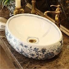 lllyzz garderobe zähler top porzellan waschbecken badezimmer
