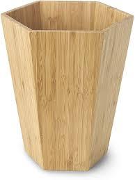 basics bambus badezimmer set geometrisch 5 teilig