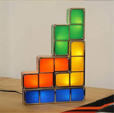 Tetris Stackable Led Desk Lamp Nz by Diy Tetris Puzzle Light Stackable Led Desk Lamp Constructible