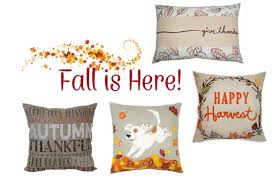 Kohl s Celebrate Fall To her Throw Pillows $12 95 reg $35 99