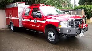 Yuba City Fire Dept Ford F550 Mini Fire Engine - YouTube