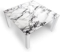 dekoglas couchtisch marmor grau glastisch beistelltisch