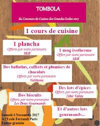 cours de cuisine ferrandi cuisine à oniris